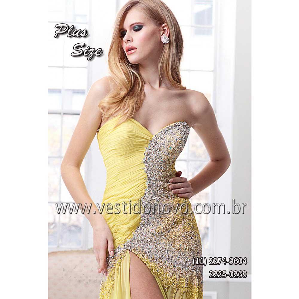4f4d8945f Vestido plus size mae do noivo, madrinha de casamento formatura, loja em  São Paulo